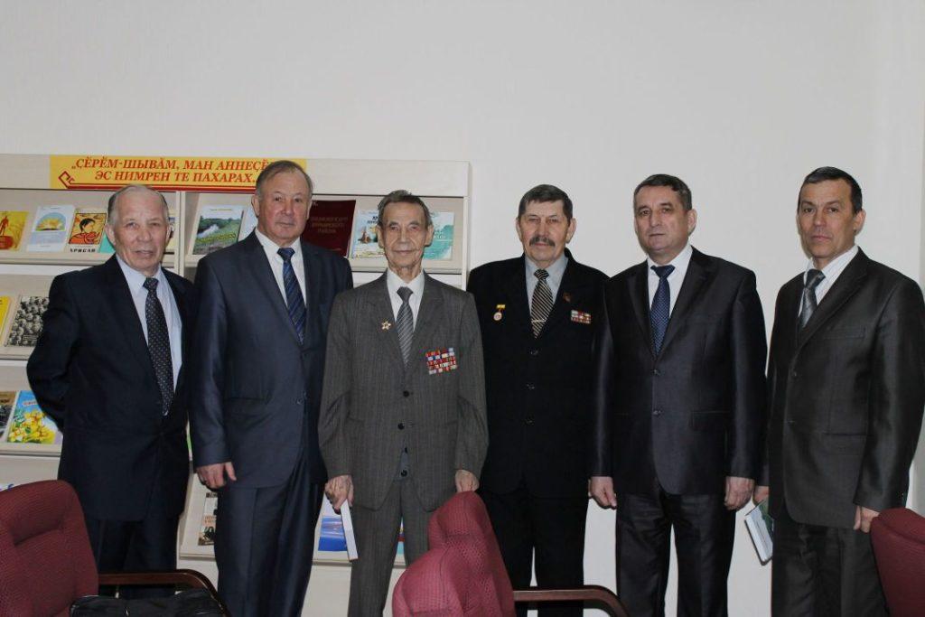 Писатели Вурнарского района Чувашской республики