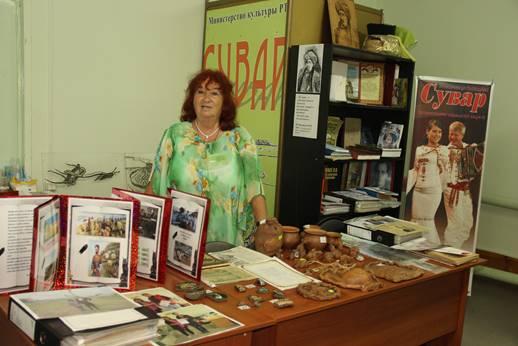 Заведующая музеем «Сувар» Нинель Масгутовна Садриева