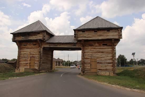 Вход в город Болгар