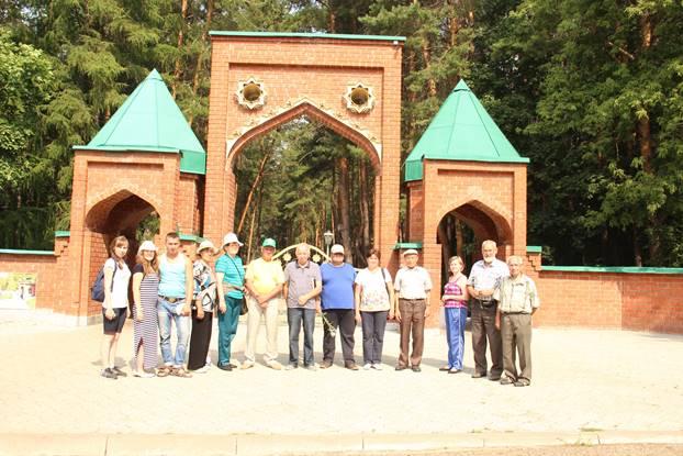 Мы у ворот историко-архитектурного музея города Биляр