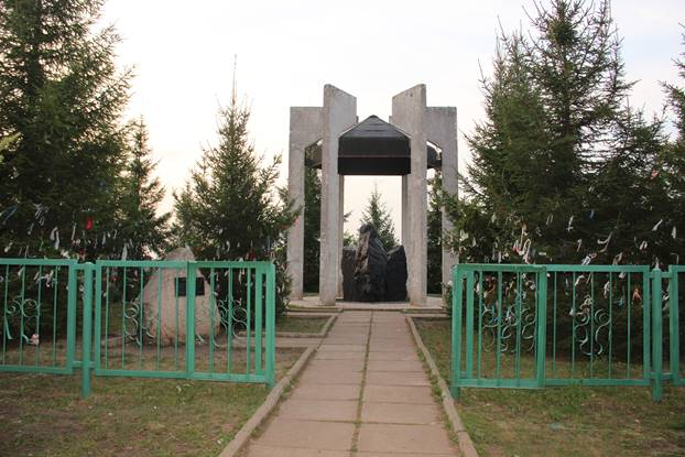 Памятник на горе Валем-хузя