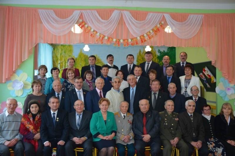 170 лет Калининской средней общеобразовательной школе Вурнарского района Чувашской республики. 21 ноября 2015 года.