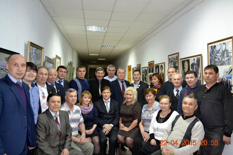 Координационный Совет Вурнарского землячества Чувашской Республики. 2015 год.
