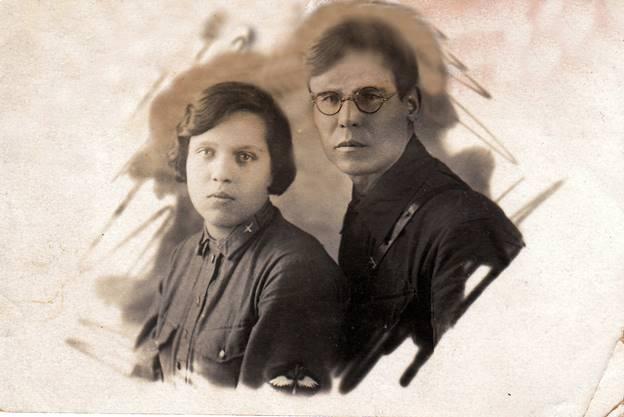 Супруги Платон Захарович и Анна Георгиевна Львовы. Фото 20-х годов прошлого века.