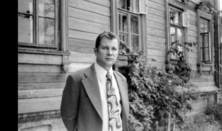Андрей Эшпай в Козьмодемьянске. 1979 год. Из архива А.В. Муравьева.