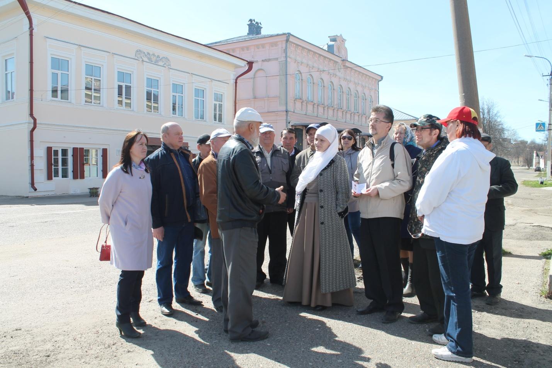 Прощание со старым городом Козьмодемьянск.