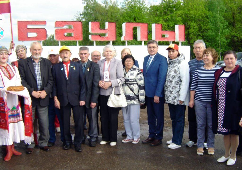 Встреча на Бавлинской земле Республики Татарстан