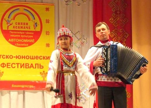 Участница детско-юношеского фестиваля «Сильбийская радуга»