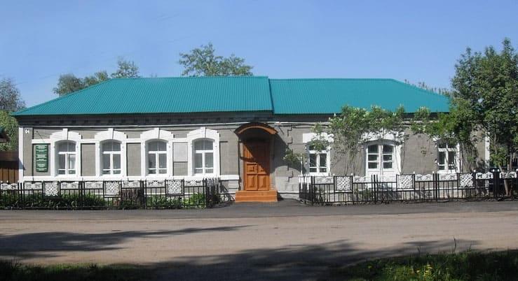 Дом, где родился и вырос К.В. Иванов, здесь сейчас находится музей