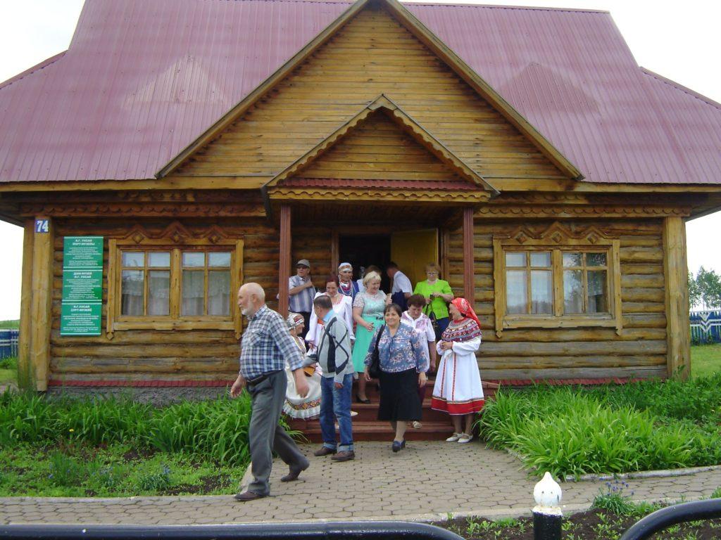 Дом-музей Я.Г. Ухсая в селе Слакбаш Белебеевского района Башкортостана
